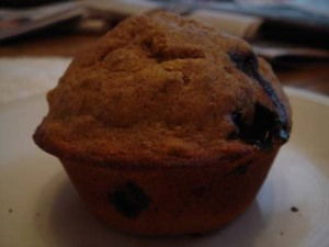 Blueberry Maple muffin